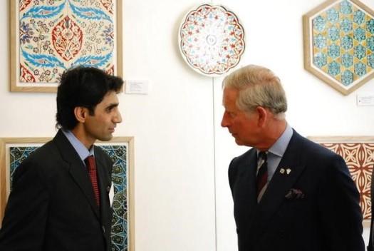 Image 2 -HRH Prince of Wales & Ghulam Hyder Daudpota